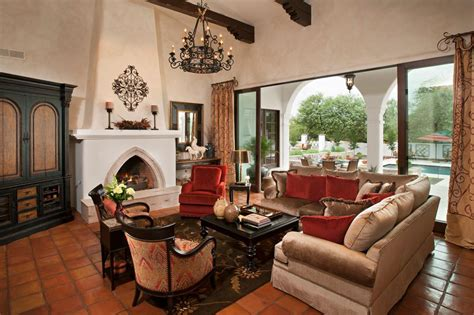 Living Room Without Fireplace Ideas by Mediterranean Style Living Room Design Ideas