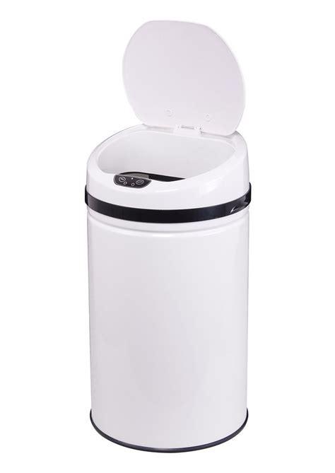 abfalleimer 30 liter edelstahl abfalleimer echtwerk 187 inox white 171 mit infrarotsensor 30 liter kaufen otto