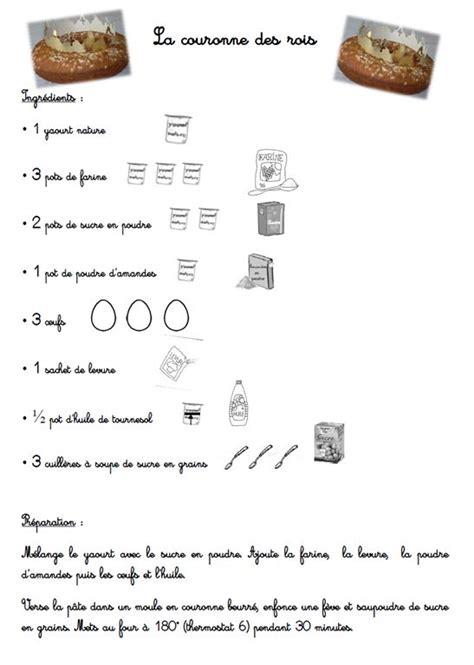 exemple de recette de cuisine 1000 idées sur le thème recette couronne des rois sur