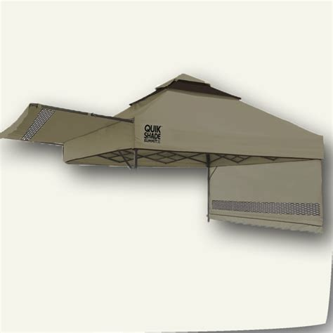 quik shade summit sx canopy top  awning   vents replacement tent