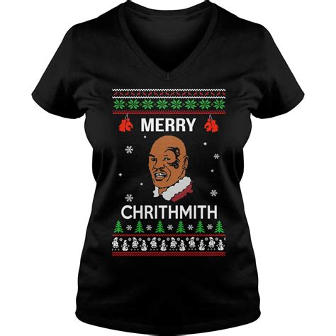 mike tyson merry chrithmith christmas sweater hoodie sweater