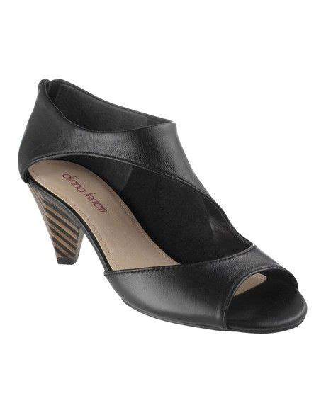 Diana Shoes by Diana Shoes Domino Sandal In Black Shoes For
