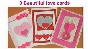 DIY Valentine Cards Handmade Love Greeting Cards For ...