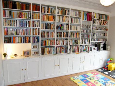Wall To Wall Shelving by Teak Veneer Bookcase Wall Bookshelves Build Plans