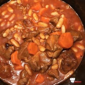 cuisiner haricots coco navarin d 39 agneau aux haricots blancs recette cookeo mimi