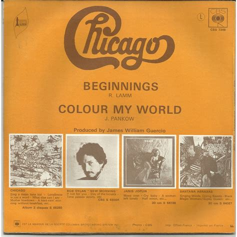 color my world by chicago colour my world beginnings by chicago sp with