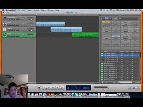 garage band tutorial mac tutorial how to use garageband