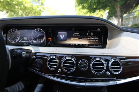 mercedes dashboard the 2015 mercedes benz s63 amg an expensive taste of