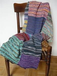 Decke Stricken Patchwork : decke stricken patchwork aus sockenwolle reste ~ Watch28wear.com Haus und Dekorationen
