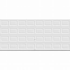 Clopay value series 16 ft x 7 ft non insulated solid for 5 x 7 garage door