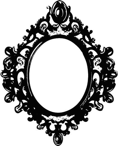 Bathroom Mirrors Black Frame by Black Mirror Frame By Berrykissed On Deviantart