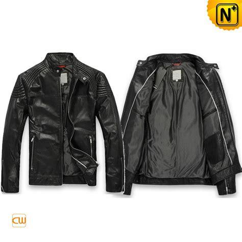 designer leather jackets s designer leather jacket pleated shoulder zipper