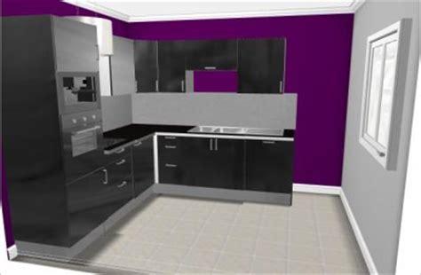 peinture aubergine cuisine cuisine de notrepetitcheznous89