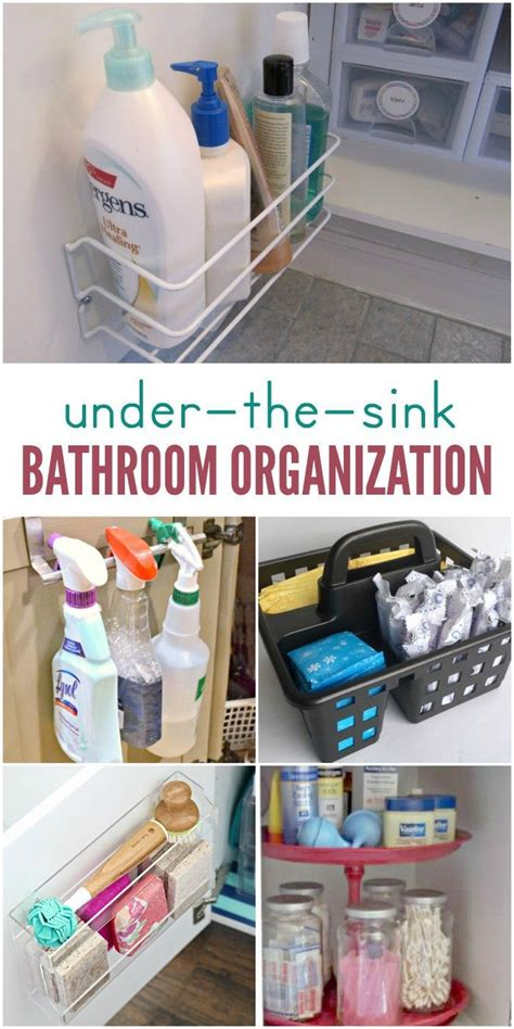 Bathroom Sink Organization by 891 Best Hacks For Images On