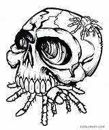 Skull Coloring Skulls Sugar Spider Bones Printable Fire Drawing Crossbones Adult Halloween Roses Evil Eat Colouring Cool2bkids Sheets Tattoo Spiderman sketch template