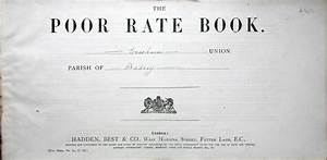Badsey - Poor Rate Book for the Parish of Badsey, 1890 ...