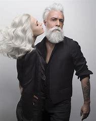 Men with Gray Beards