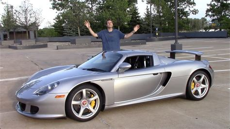 Here's Why The Porsche Carrera Gt Is The Greatest Car Ever