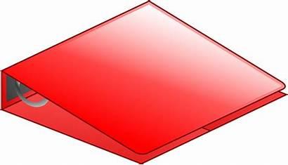 Binder Ring Clipart Creazilla Transparent Notebook Three