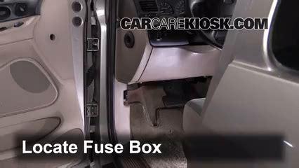 2003 Ford Econoline Fuse Box Diagram V 6 by Interior Fuse Box Location 1995 1998 Ford Windstar 1996