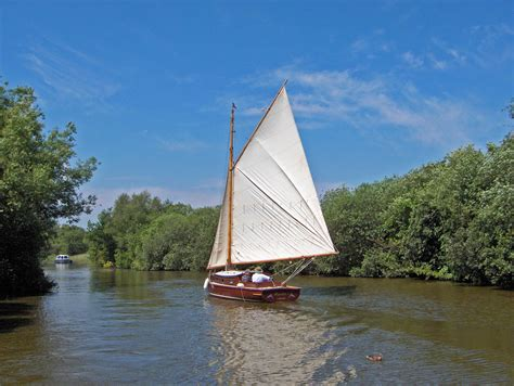 Sailing Boat Uk by Norfolk Sailing Including Yachts Dinghies Gaff Rigged