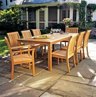 luxury wood patio table and chairs designs outdoor wood