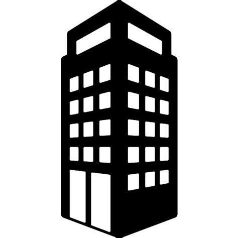 Bloque De Pisos  Iconos Gratis De Edificios