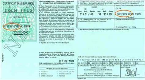 numero de carte verte quelle amende en cas de non pr 233 sentation de l attestation d assurance ou carte verte