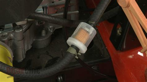 Push Mower Fuel Filter by Briggs Stratton Lawn Mower Not Running Smoothly 691035