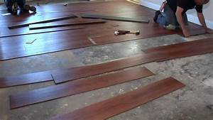How to install vinyl plank flooring on concrete base for How to replace vinyl flooring