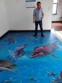 Buy Bathroom Floor Murals 3D