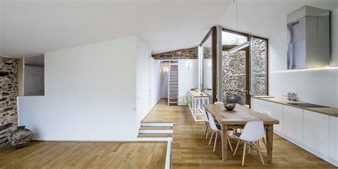Interieur Maison Ancienne Renovee Projet D Architecte Alliance De L Ancien Et Du Moderne