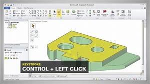 Designspark Mechanical - Basics - 4d  - The Pull Tool - Rounding Edges