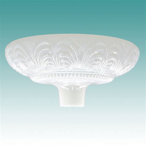 Dish Torchiere L Shade Replacement by 9961 S Pearl Lustre Torchiere Shade 14 Quot Glass Lshades