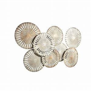 Wanddeko Metall Modern : wanddeko metall modern wanddekoration wanddeko wand wandobjekt deko metall glas modern neu ~ Frokenaadalensverden.com Haus und Dekorationen
