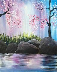 Easy Acrylic Canvas Painting Ideas Spring