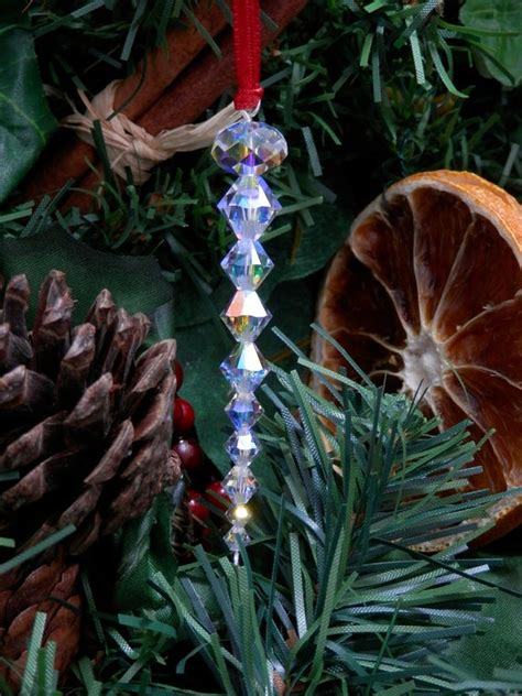 tree icicle decorations festive ornaments with - Tree Decorations Icicles