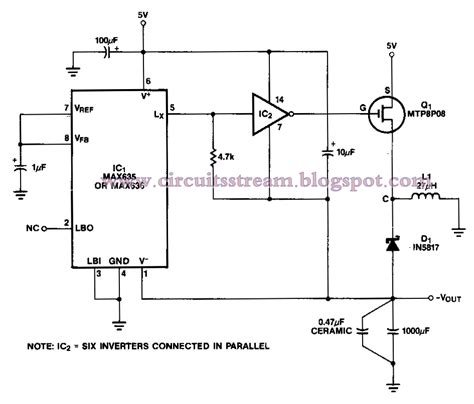 Medium Power Inverter Circuit Diagram Electronic