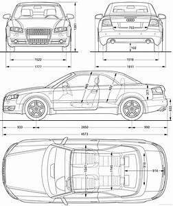 Dimension Audi A4 : the blueprints cars audi audi a4 2006 ~ Medecine-chirurgie-esthetiques.com Avis de Voitures
