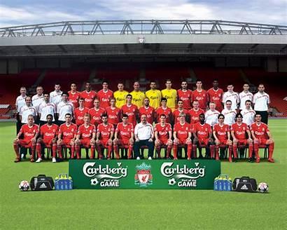 Liverpool Fc 2009 Squad Lfc Team Football