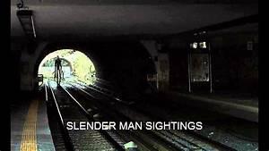 SLENDER-MAN SIGHTINGS - YouTube