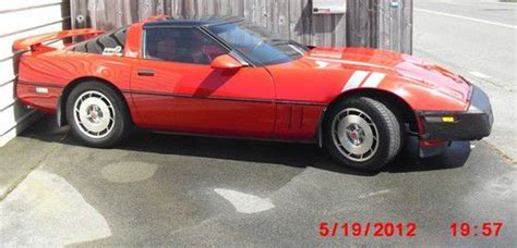 Find Used '86 Corvette C4 Z51 Performance Package L98