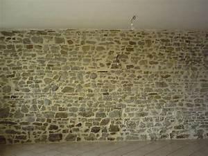 Mur Pierre Apparente : cuisine mur en pierre interieur decoration mur interieur ~ Premium-room.com Idées de Décoration