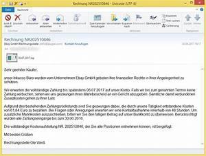 Ebay Auf Rechnung : rechnung nr202510846 von ebay gmbh rechnungsstelle info vorsicht e mail ~ Themetempest.com Abrechnung