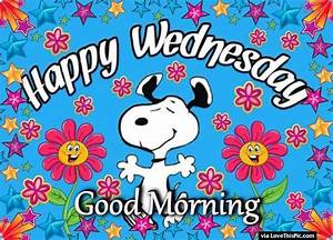 Good Morning Snoopy : snoopy good morning happy wednesday image quote pictures photos and images for facebook ~ Orissabook.com Haus und Dekorationen