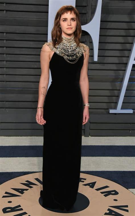 Emma Watson Wears Vintage Ralph Lauren Gown The