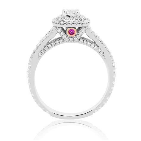 sir michael hill designer grandarpeggio engagement ring with 0 95 carat tw of diamonds in 14kt