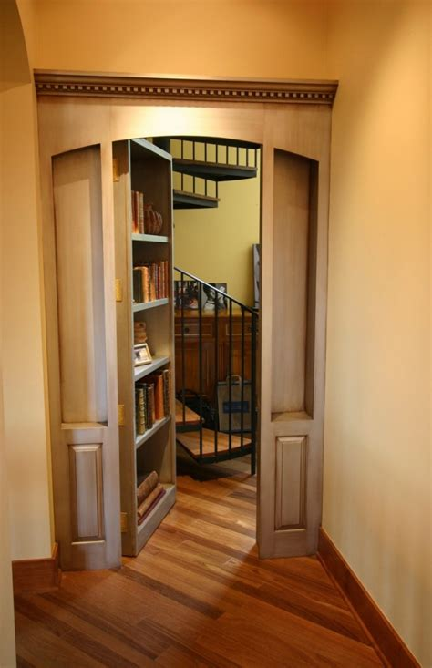 Passage Bookcase 16 amazing rooms and secret passageways in houses