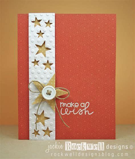 handmade greeting card clean  simple design