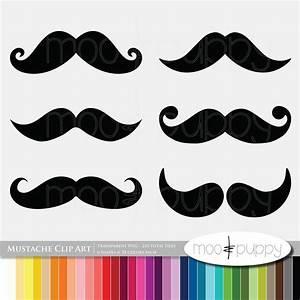 Free Mustache Cliparts Colorful, Download Free Clip Art